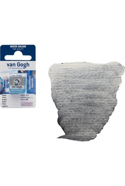 Talens Van Gogh Sulu Boya Tablet Silver 800