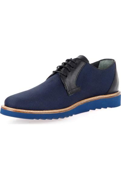 Celal Gültekin Cg 2909 Erkek Ayakkabı Lacivert Keten