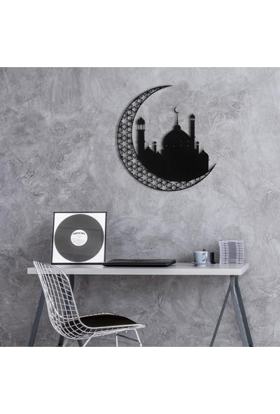 Wall Art İstanbul Hilal ve Cami Metal Tablo - WAM053