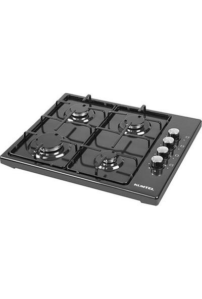 Kumtel 420 F Siyah Setüstü Ocak-Doğalgaz