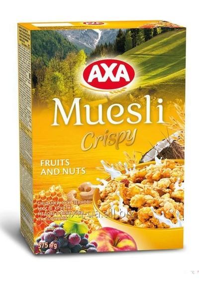 Axa Müsli Meyveli&Yemişli 375gr