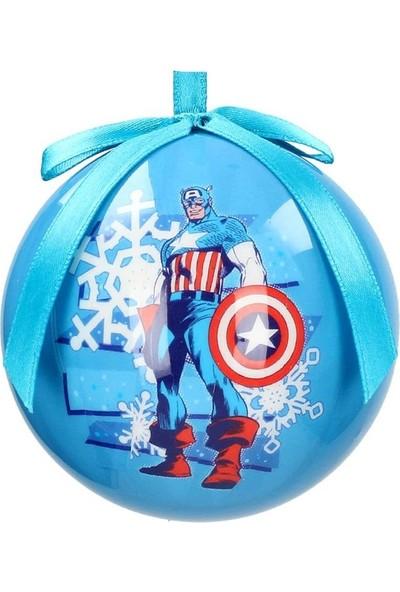 SD Toys Marvel: Captain America Christmas Ball Yılbaşı Süsü