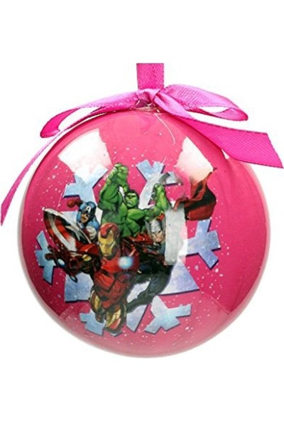 SD Toys Marvel: Snowflake Characters Christmas Ball Yılbaşı Süsü