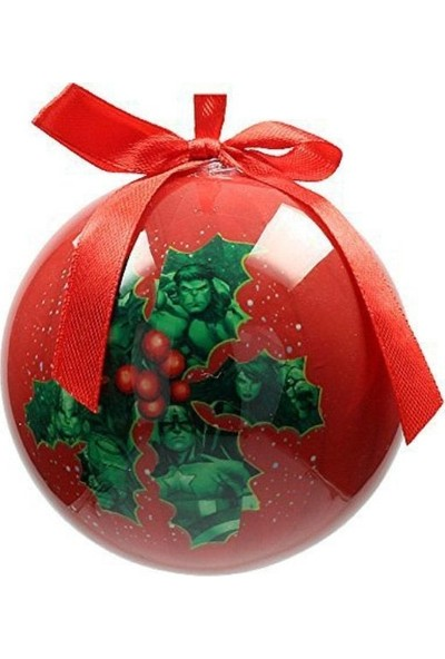 SD Toys Marvel: Mistletoe Characters Christmas Ball Yılbaşı Süsü