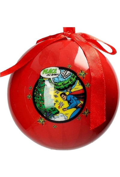 SD Toys DC Comics: Superman Comics Christmas Ball Yılbaşı Süsü