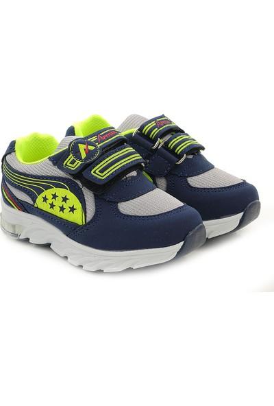 Kids World İlk Adım Işıklı Erkek Çocuk Spor Ayakkabı