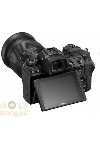Nikon Z7 24-70mm F4 Kit (Nikon Türkiye Distribütörü Karfo Karacasulu Garantili)
