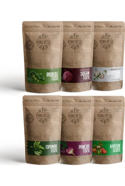 Kuru Yeşil Sebze Mega Paketi 600 gr