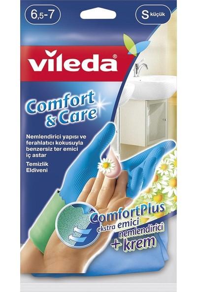 Vileda Comfort&Care Temizlik Eldiven (Küçük)