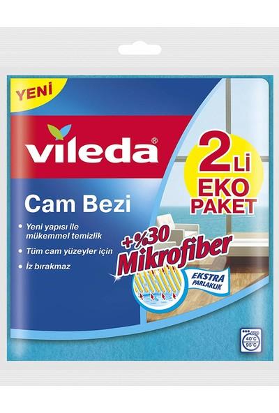 Vileda Cam Bezi 2 Li Eko Paket