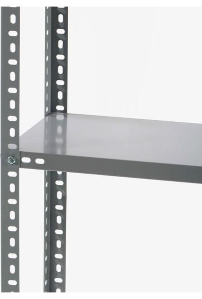 Mira Raf Çelik Raf Sistemleri - 43X93x200 5 Raflı