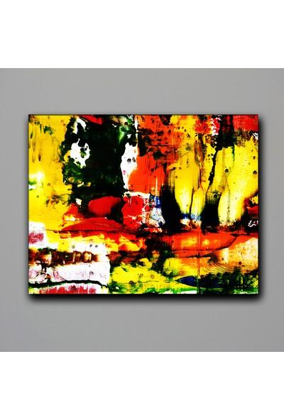 Dekomuz Soyut Kanvas Tablo 60 x 40