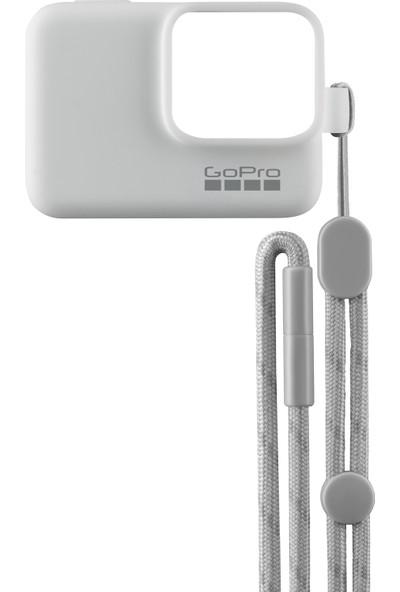 GoPro Bileklik + Boyunluk (Beyaz) Sleeve + Lanyard