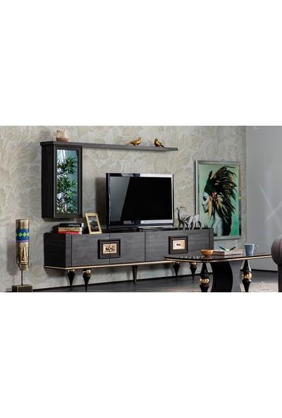 Yıldız Mobilya Negro Luxury Tv Ünitesi