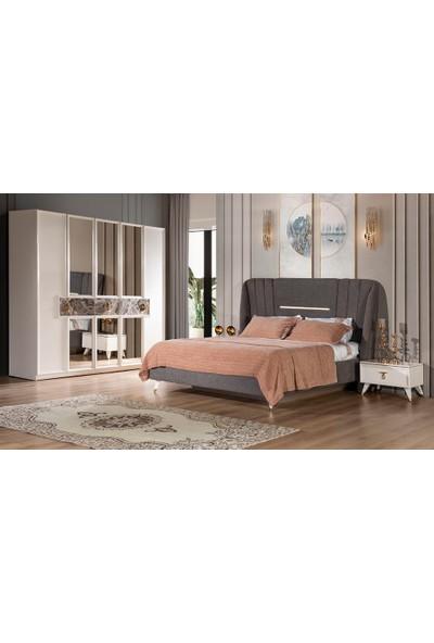 Yıldız Mobilya Madlen Yatak Odası - Kapaklı