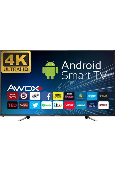 Awox U5600STR 55'' 140 Ekran Uydu Alıcılı 4K Ultra HD Smart LED TV