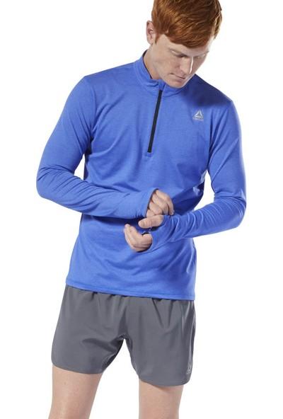 Reebok Dp6753 Re Quarter Zıp Erkek Sweatshirts
