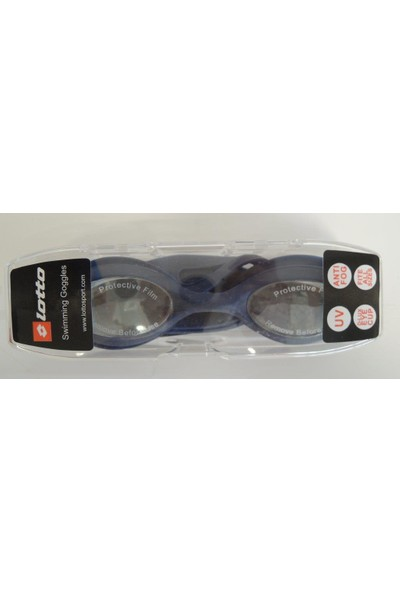 Lotto N6876 Goggle Darren Mr 6Pcs Erkek Yüzücü Gözlüğü