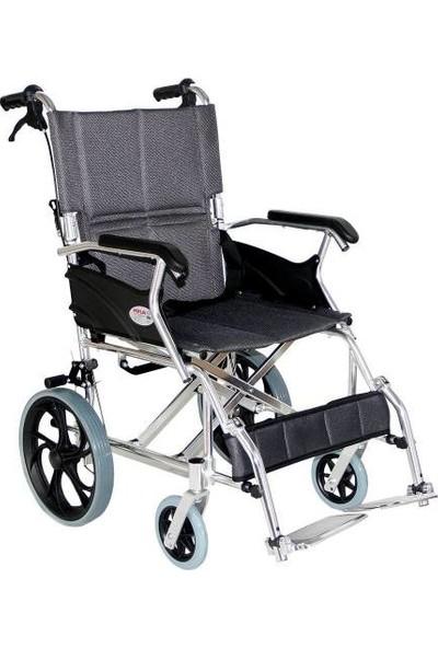 Poylin P805 Refakatçı Tekerlekli Sandalye Küçük Teker