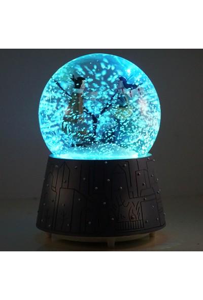 Mory Concept Kış Masalı Kar Küresi Otomatik Püskürtmeli Müzikli & Işıklı