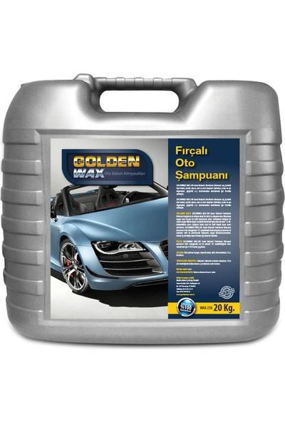 Goldenwax Kostik Solvent İçermeyen Cilalı Su Kaydırıcı Özellikli Oto Yıkama Şampuanı 10 Kg