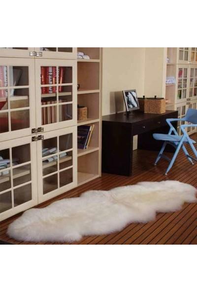 Halıforum Peluş Halı Beyaz Kuzu Post-Mir-Çift Kafa