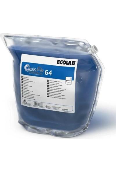 Ecolab Oasis Pro 64 Premium Tuvalet Temizleme Ürünü 2lt