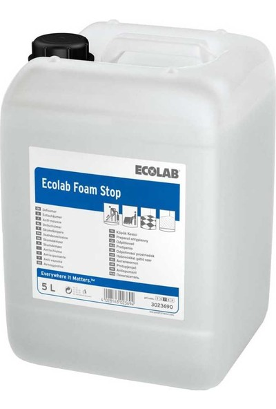 Ecolab Stop Foam Köpük Kesici 5lt