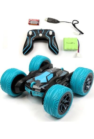 Uzaktan Kumandalı Full Fonksiyon 2.4Ghz 1:16 Şarjlı Atom Max Acrobat Araba