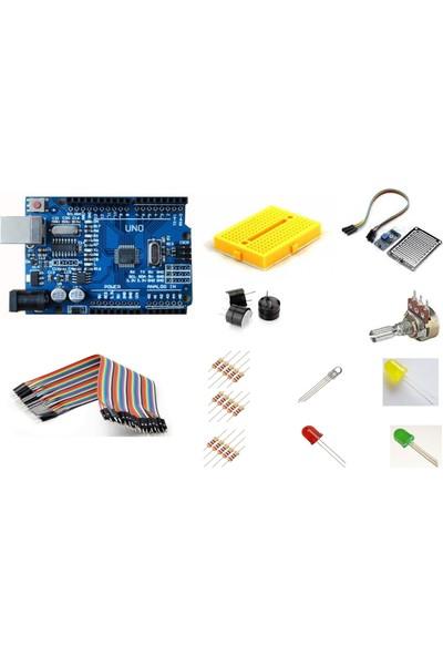 Arduino Uno R3 Ch340G Mini Başlangıç Seti