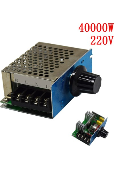 Arduino Dimmer 4000W Ac Voltaj Regulator Dimmer 220V Metal Kasa Soğutmalı