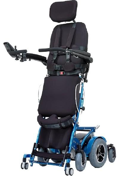 Poyli̇n P-301 Multi Fonksiyonel Ayağa Kaldırabilen Akülü Tekerlekli Sandalye / Multi Functional Power Wheelchair