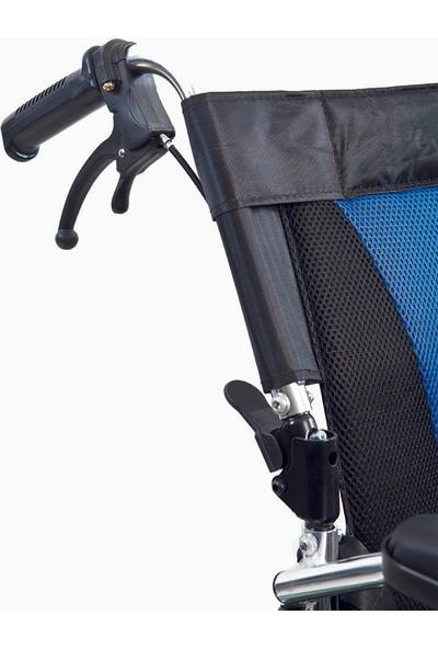 Golfi̇ G-503 Alüminyum Manuel Transfer Tekerlekli Sandalye / Aluminum Manual Transfer Wheelchair