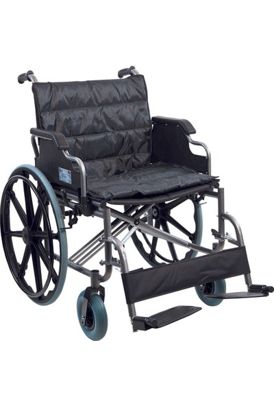 Golfi̇ G-140 Geniş Manuel Tekerlekli Sandalye / Bariatric Manual Wheelchair
