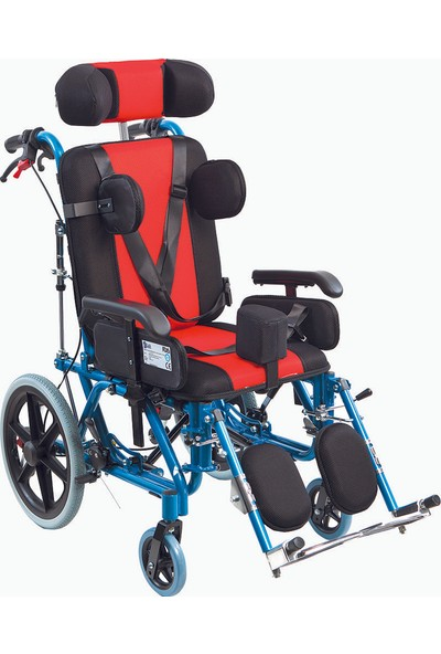 Golfi̇ G-458C Çocuk Selebral Palsi Manuel Tekerlekli Sandalye / Pediatric Cerebral Palsy Manual Wheelchair