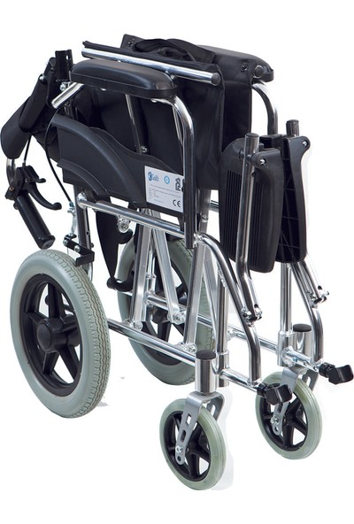 Golfi̇ G-502 Alüminyum Transfer Tekerlekli Sandalye / Aluminum Transfer Wheelchair