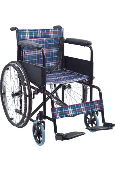 Golfi̇ G-100 Ekonomik Manuel Tekerlekli Sandalye / Basic Manual Wheelchair