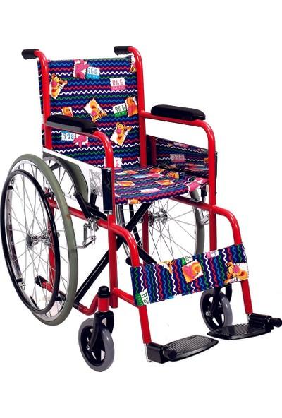 Golfi̇ G-100C Çocuk Manuel Tekerlekli Sandalye / Pediatric Manual Wheelchair