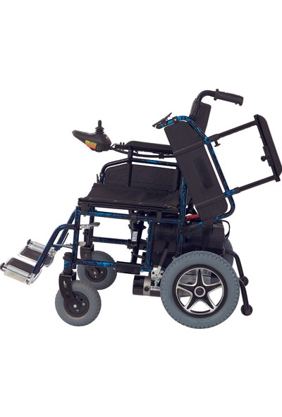 Jetty JT-101 Katlanabilir Akülü Tekerlekli Sandalye / Folding Power Wheelchair