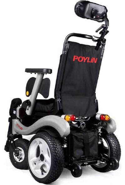 Poyli̇n P-288 Multi Fonksiyenel Akülü Tekerlekli Sandalye / Multi Functional Power Wheelchair