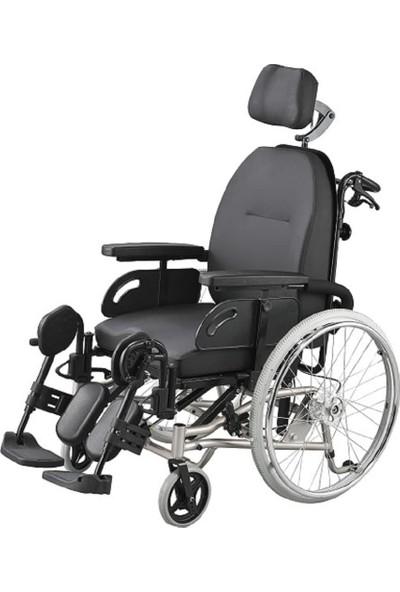 Poyli̇n P-140 Multi Fonksiyonel Manuel Tekerlekli Sandalye / Multi Functional Manual Wheelchair