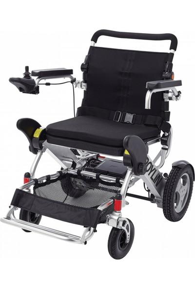 Poyli̇n P-209 Ultra Hafif Katlanabilir Akülü Tekerlekli Sandalye / Ultra Light Foldable Power Wheelchair