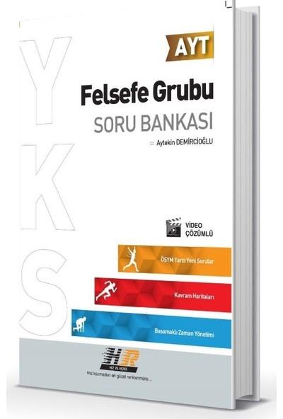 Hız Ve Renk Yayınları Ayt Felsefe Grubu Soru Bankası - Aytekin Demircioğlu