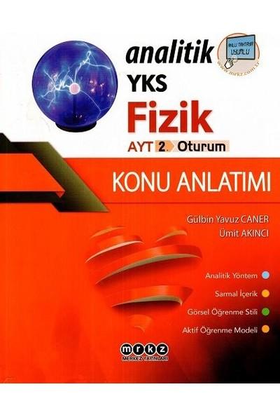 Merkez Yayınları Ayt Analitik Fizik Konu Anlatımlı - Ümit Akıncı