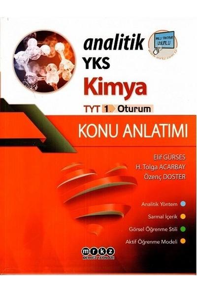 Merkez Yayınları TYT Analitik Kimya Konu Anlatımlı