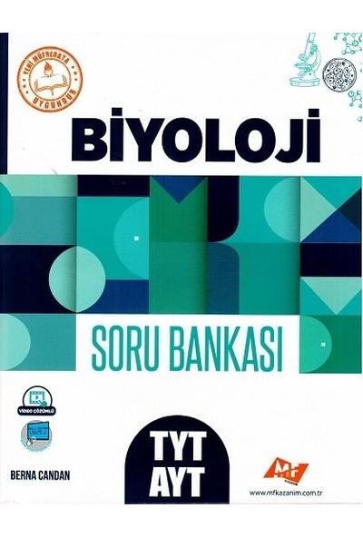 Mf Kazanım Yayınları Tyt Ayt Biyoloji Soru Bankası - Berna Candan