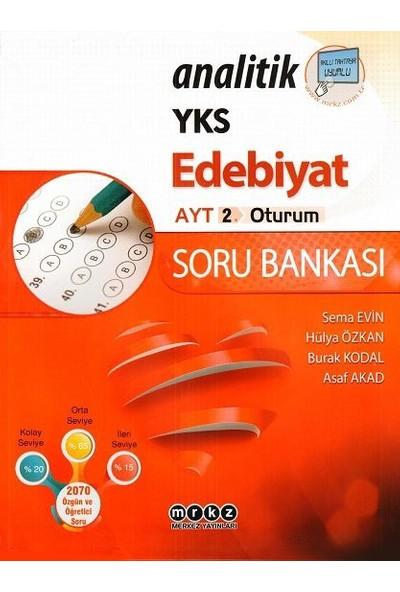 Merkez Yayınları Yks Ayt Analitik Edebiyat Soru Bankası - Hülya Özkan