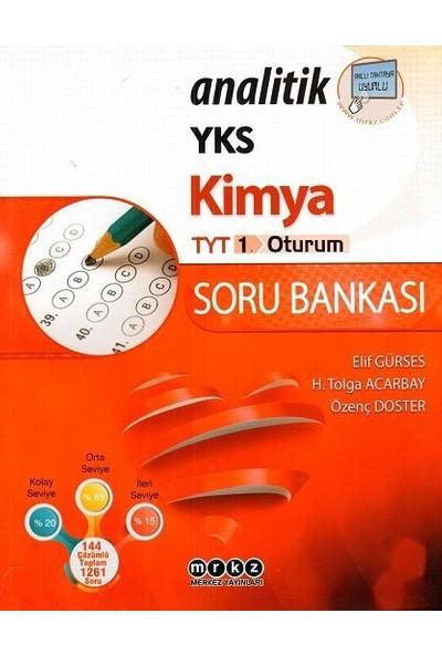 Merkez Yayınları Tyt Analitik Kimya Soru Bankası - Elif Gürses