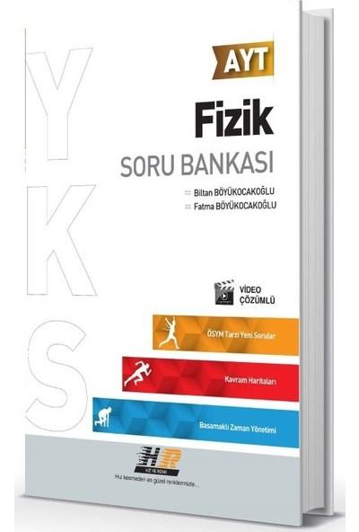 Hız Ve Renk Yayınları Ayt Fizik Soru Bankası - Fatma Böyükocakoğlu