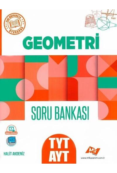 Mf Kazanım Yayınları Tyt Ayt Geometri Soru Bankası - Halit Akdeniz
